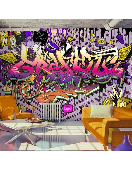 Papier peint HEY YOU! - par Artgeist