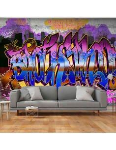 Papier peint COLORFUL MURAL - par Artgeist