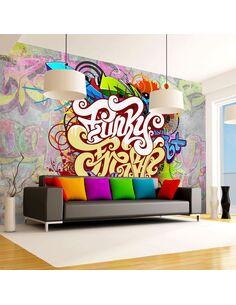 Papier peint FUNKY GRAFFITI - par Artgeist