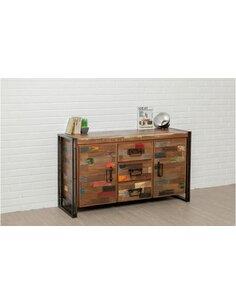 Buffet bois LOFT Teck recyclé - par Delorm
