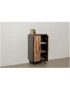 Buffet FUSION 2 portes Teck recyclé - par Delorm