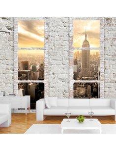 Papier peint NEW YORK: VIEW FROM THE WINDOW - par Artgeist