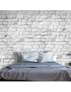 Papier peint WHITE BRICK - par Artgeist