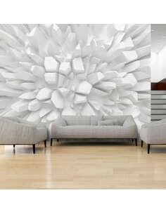 Papier peint WHITE DAHLIA - par Artgeist