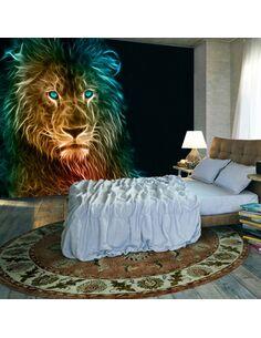 Papier peint ABSTRACT LION - par Artgeist