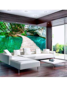 Papier peint PLITVICE LAKES NATIONAL PARK, CROATIA - par Artgeist