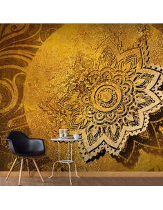 Papier peint GOLDEN ILLUMINATION - par Artgeist