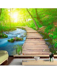 Papier peint GREEN FOREST - par Artgeist