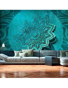 Papier peint AZURE FLOWER - par Artgeist