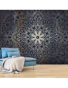 Papier peint IRON FLOWERS - par Artgeist