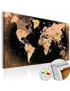 Tableau en liège PLANET EARTH - par Artgeist