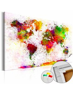 Tableau en liège ARTISTIC WORLD - par Artgeist