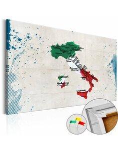 Tableau en liège ITALY - par Artgeist