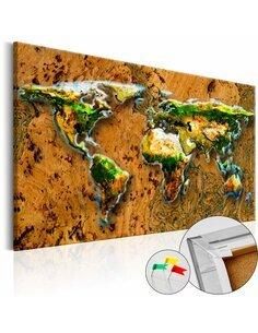 Tableau en liège WORLD JUNGLE - par Artgeist