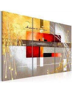 Tableau Triptyque - Four Seasons Modernes Artgeist