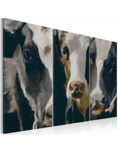 Tableau PIEBALD COW - par Artgeist