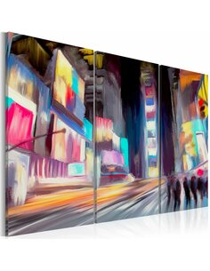 Tableau Triptyque - New Yorkers New York Artgeist