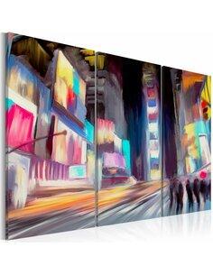 Tableau Triptyque - New Yorkers - par Artgeist