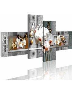 Tableau - 4 tableaux - Calla de perle - par Artgeist