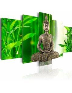 Tableau BOUDDHA MÉDITANT - Zen par Artgeist