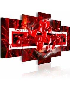 Tableau - 5 tableaux - Ravissement de l'amour - par Artgeist