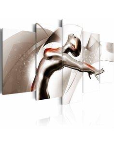 Tableau GOLD DANCE: SHE - par Artgeist