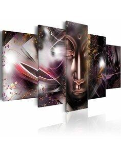 Tableau - 5 tableaux - Bonheur bouddhique Zen Artgeist