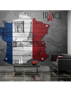 Papier peint FRANCE SYMBOLES - par Artgeist