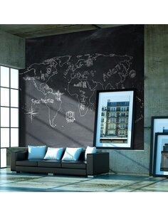 Papier peint PETIT VOYAGE. GRAND VOYAGE EN ALLEMAND - par Artgeist