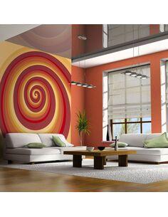 Papier peint SNAIL HOUSE - par Artgeist