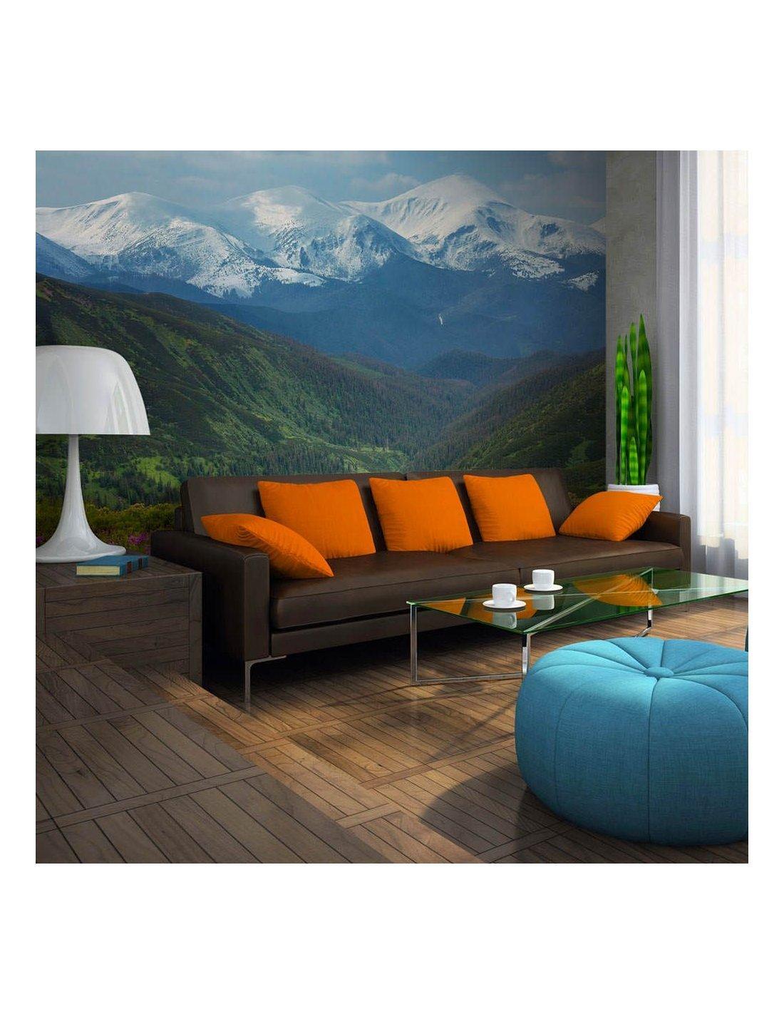 Papier Peint Paysage De Montagne Au Printemps A 89 90 Chez Recol