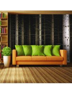 Papier peint Deep dark forest  Arbres et Forêt Artgeist