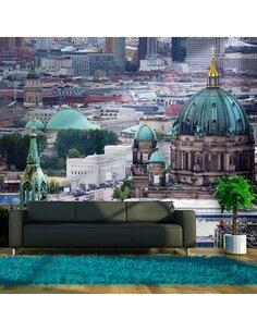 Papier peint BERLIN VUE À VOL D'OISEAU - par Artgeist