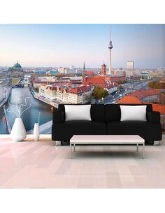 Papier peint BERLIN VIEW FROM FISCHERINSEL - par Artgeist