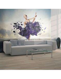 Papier peint BALLET EXPRESSION ARTISTIQUE - par Artgeist