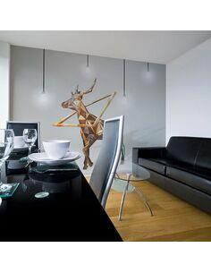 Papier peint CERF 3D - par Artgeist