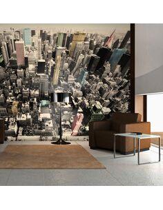 Papier peint NEW YORK LA VIE EN PASTELS - par Artgeist