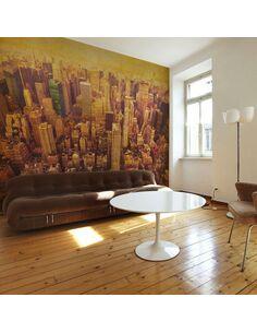 Papier peint NEW YORK CITY EN SÉPIA - par Artgeist
