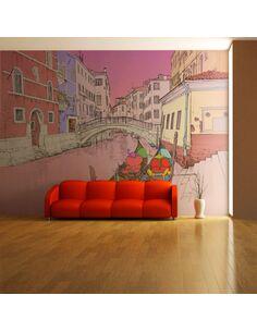 Papier peint WE LOVE GONDOLAS - par Artgeist