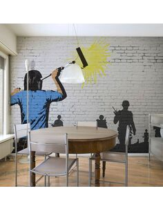Papier peint PEACEMAKER - par Artgeist