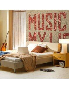 Papier peint ROCK MUSIC - par Artgeist