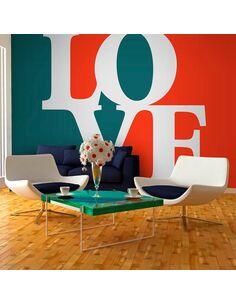 Papier peint WHAT IS LOVE? - par Artgeist