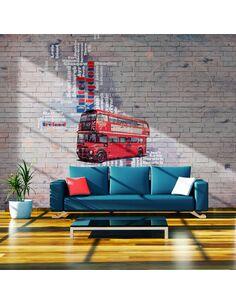 Papier peint MON LONDON ... - par Artgeist