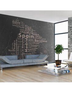 Papier peint ESPAGNE GRANDES VILLES, LES PETITS VILLAGES ... - par Artgeist