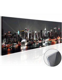 Tableau sur verre acrylique NEW YORK DREAM [GLASS] - par Artgeist