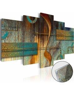 Tableau sur verre acrylique EXOTIC NOTE [GLASS] - par Artgeist