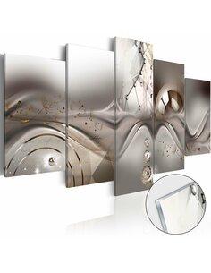 Tableau sur verre acrylique MAJESTY OF THE SYMMETRY [GLASS] - par Artgeist