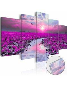 Tableau sur verre acrylique THE RIVER OF MAGIC [GLASS] - par Artgeist