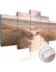 Tableau sur verre acrylique SUMMER SYMPHONY [GLASS] - par Artgeist