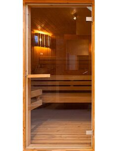 Papier-peint pour porte Sauna  Papier-peints pour porte Artgeist